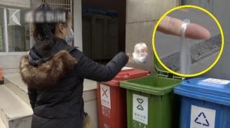 Người phụ nữ bị đứt gân ngón tay vì làm việc này khi vứt rác: Đây cũng là thói quen của rất nhiều người