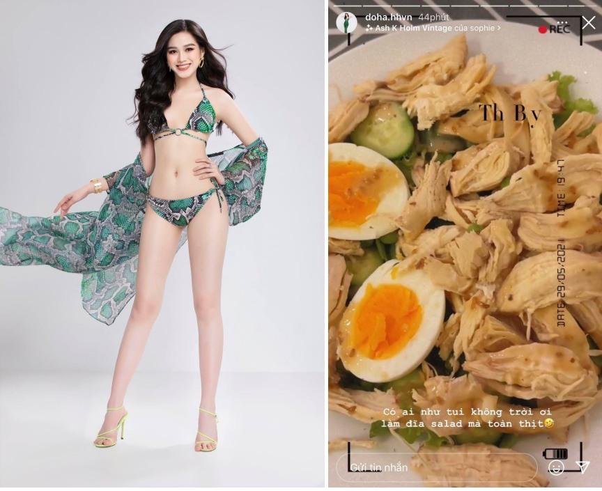 Thực đơn giảm cân mùa dịch của sao Việt: Diễm My ăn toàn rau, trùm cuối đích thực là Hiền Hồ